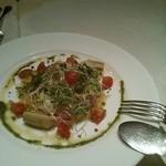 アモリーノ - 料理写真:黒鯛のカルパッチョ