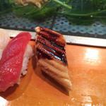 三ます - 「松すし」1600円のアナゴ