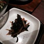 炭火焼神戸牛いく田 - 小鉢