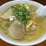ラーメンハウスミニ - 料理写真:ラーメンハウスミニ鳥生店 塩ラーメン¥648円