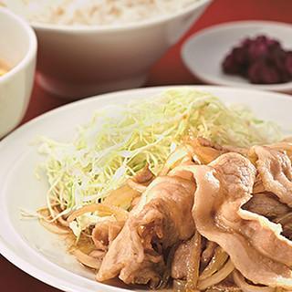 おすすめ中華定食