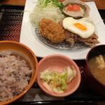 大戸屋 - 大戸屋ランチ 五穀米小(¥679)