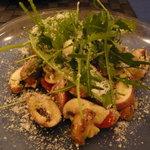 トラットリア ウーノ - マッシュルームのサラダ