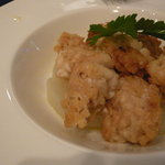 トラットリア ウーノ - 白子のセモリナ粉フライ