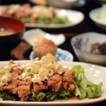 中華キッチンかなめ - 油淋鶏定食