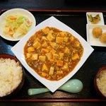 福楽 - 料理写真:麻婆豆腐定食