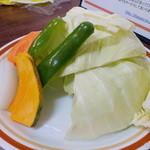 国際亭 - 野菜盛り合わせ