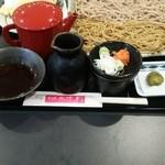 そば de 十割 - 料理写真:よろこびそばB 天ぷら付