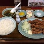 どさん子大将 - 料理写真:から揚げ定食