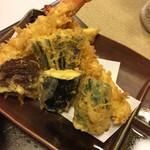 晴海 - 大海老の天ぷら盛り合わせ