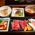 焼肉 上杉 - 料理写真:特選・上杉ランチ