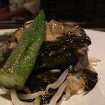 KATANA - 蝦夷あわび昆布蒸しのバター焼き