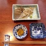 41175567 - 蕎麦刺身 500円(税込)