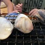 浜茶屋 協栄 - 焼きハマグリ1.0kg3,000円