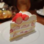 ハーブス - 長野産 夏いちごのケーキ☆