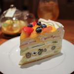 ハーブス - フレッシュフルーツケーキ☆
