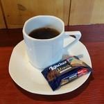 Petit HANON  - コーヒーも付いていました♪。