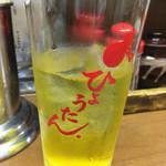 ひょうたん - 緑茶割り