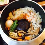 もみじ亭 - 料理写真:釜飯炊き上がり