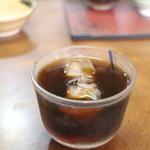 てっ平食堂 - サービス(アイスコーヒー)