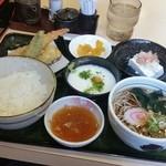たまの里 - ランチの「天狗定食 (980円)」