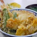 丸屋ソバ屋 - 料理写真:天丼