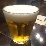 インドのとなり - 生ビール(小)