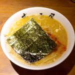 むつみ屋 - 白味噌キムチラーメン(¥980)。絶妙な組合せです!