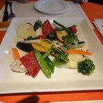 ビストロ オランジュ - 北海道野菜の盛り合わせ