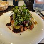 ビストロ オランジュ - 仔牛のレバーのソテーとリオン風野菜炒め