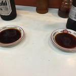 餃子の又兵衛 - 餃子のタレ・瓶ビール
