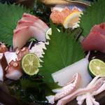 八剣伝 - 刺身5種盛り