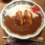 とり田 - 水炊きスープで作る 『チキンカツカレー』(大盛り)(2回目)