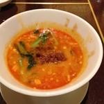 41182301 - コースの〆の担担麺