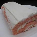プランタン ブラン - 白桃ロールケーキ 定価 2280円