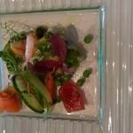 41184570 - 魚介類のサラダ