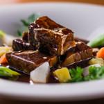 ビストロ菜フェスタ - 道産牛のビーフシチュー 温野菜添え
