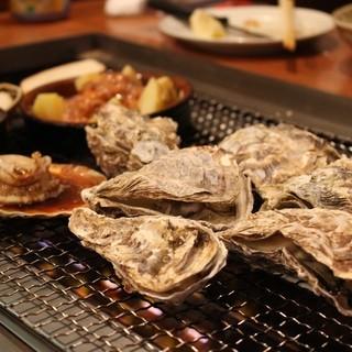 都内で店内バーベキュー♪おいしい牡蠣がいつでも食べられる!