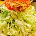 お好み焼じゅうじゅ - 明太子もちチーズもんじゃ850円