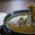 41189713 - カレーそば(神戸牛の細切れ肉が入ってるかも?)
