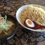 麺処 蓮海 - まぐろ豚骨醤油つけ麺 特盛