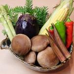 四季の食 さいとう - 旬の野菜