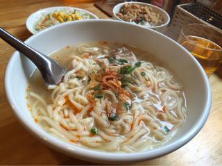 サバイディー タイ&ラオス料理 - フォーともうどんとも違う、ラオスうどん。かなり美味しいです(^_^)