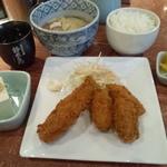 ちゃんこ屋 鈴木ちゃん - 牡蠣フライ定食