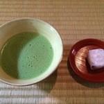 当麻寺中之坊 - 料理写真:抹茶&お菓子