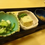 41195201 - 海の幸味処膳      前菜3種
