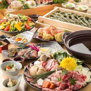 新潟の郷土料理をベースに本格和食をご提供!ご宴会・女子会に◎