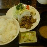 喰い処 南禅 - 焼肉定食 520円