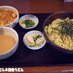 手打麺THE・うどん 大 - 2015年8月 週替わりランチ