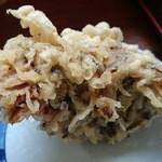 上野製麺所 - 舞茸の天ぷら 130円